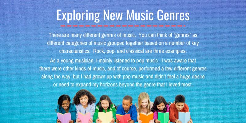 Exploring New Music Genres blog post